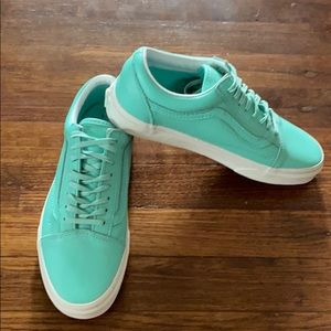 Mint Green Old Skool Vans